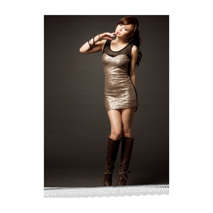 SD211027 - Sexy Sequin Party Dress