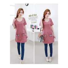 Load image into Gallery viewer, SD75769-1 - Korea Fashion Ribbon Pocket Dress