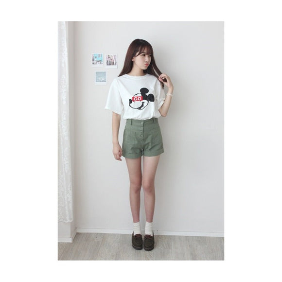 ST7319 - Cute Mickey Mouse Top