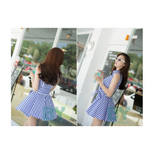 Load image into Gallery viewer, SD95513 - Fashion Summer Stripe Dress