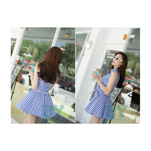 SD95513 - Fashion Summer Stripe Dress