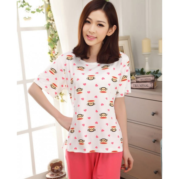 SL91348 - Fashion Cute Pyjamas (1 Set)