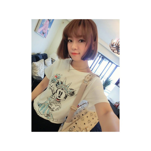 ST96058 - Cute Mickey Cotton Top