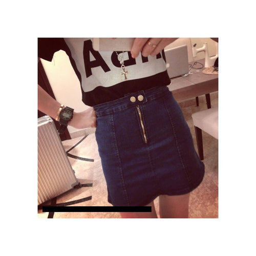 SK7927 - Fashion Denim Skirt
