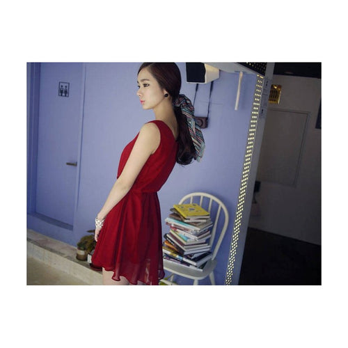 SD99763 - Fashion Chiffon Dress
