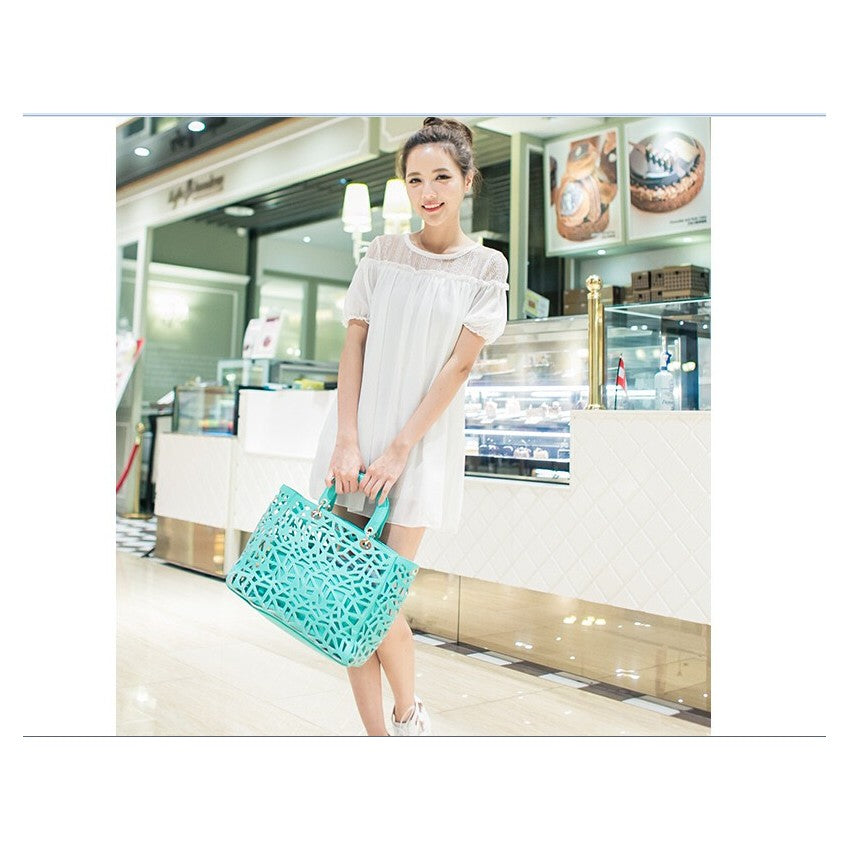 SD77141 - Korea Fashion Chiffon Dress