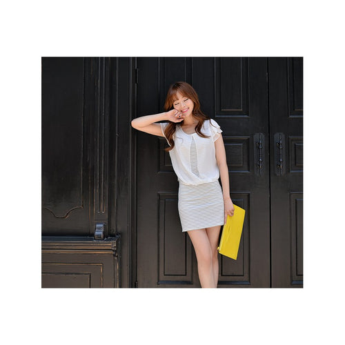 SD77159 - Korea Fashion One Piece Dress