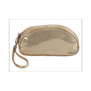 SB2005 - 5 Colour Bling Bling Cosmetic Bag (With Mirror)