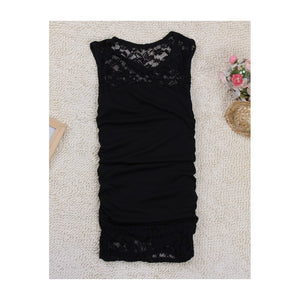 SD211108 - Korea Body Hugging Lace Dress