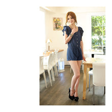 Load image into Gallery viewer, SP96056 - Korea Fashion Lotus Sleeve Jumpsuit