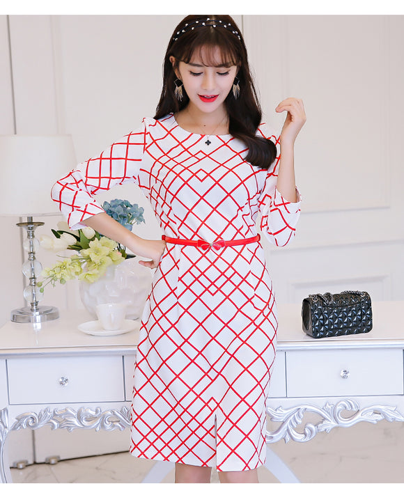 SD 5056 Stylish OL Dress As Picture
