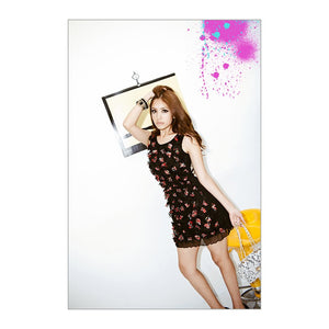 SD27606 - Korea Fashion Flora Dress