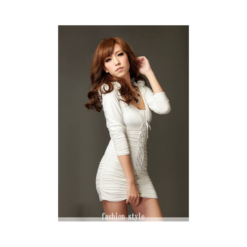 SD210703 - Korea Trendy Body Hugging Dress