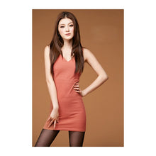 Load image into Gallery viewer, SD210777 - Fashion V Neck Dress