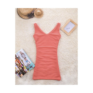 SD210777 - Fashion V Neck Dress