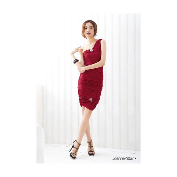 SD9099 - JK Oblique Dinner Dress