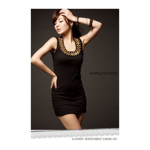 SD758028 - Fashion U Neck Dress
