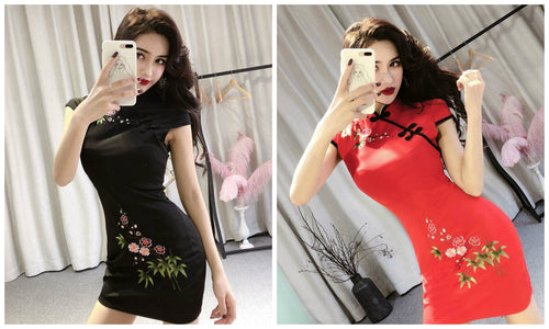 SC3724 Stylish Cheongsam