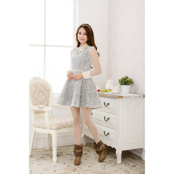 SD91802 - Korea Fashion Quality Dress