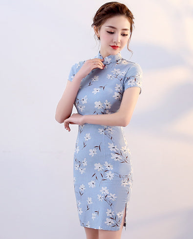 SC-3640 Fashion Cheongsam