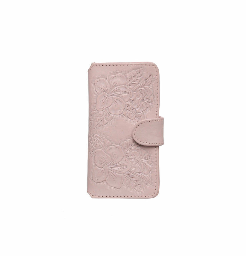 Hula Hibiscus Phone Cover - Blush