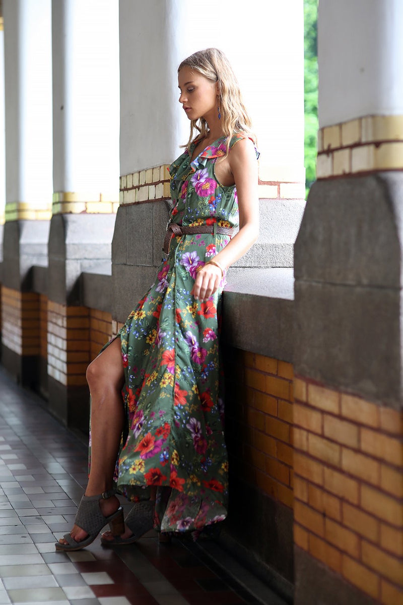 Melody Sleeveless Maxi Dress