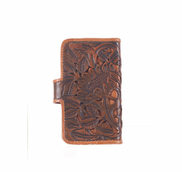 Amazon Phone Cover - Saddle Brown/Tan