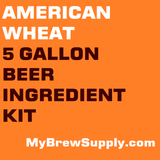 American Wheat 5 Gallon Premium Extract Beer Ingredient Kit