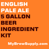 English Pale Ale 5 Gallon Premium Extract Beer Ingredient Kit