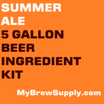 Summer Ale 5 Gallon Premium Extract Beer Ingredient Kit