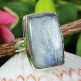 925 Sterling Silver Ring - Handmade Kyanite Ring