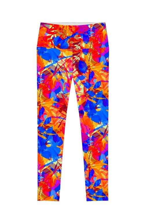 Summer Dizziness Lucy Printed Performance Legging