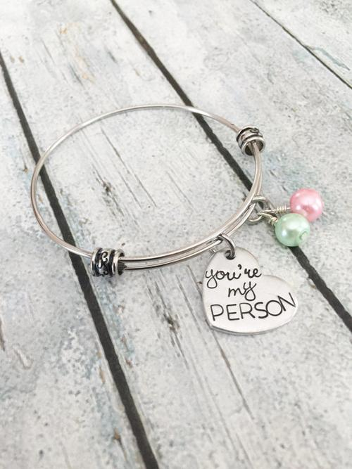You're my person - Best friends bracelet - You're