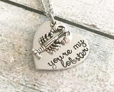 You're my lobster - FRIENDS necklace - lobster