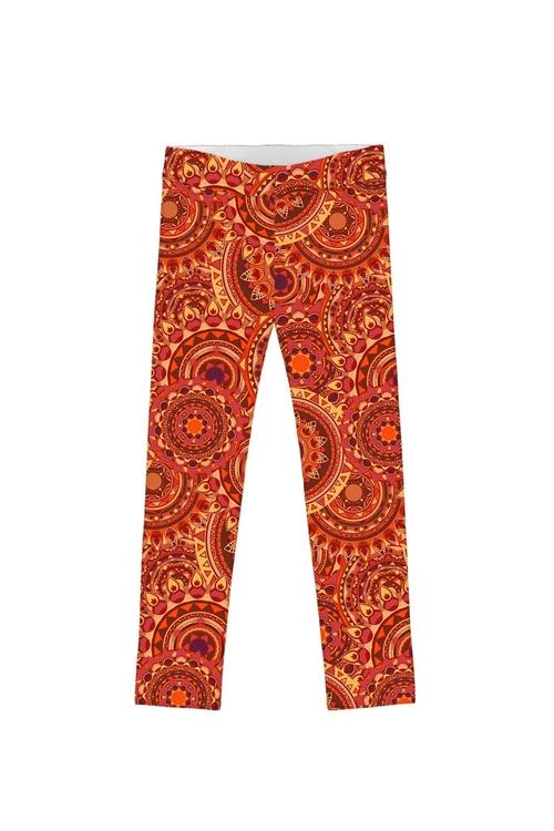 Solis Lucy Fall Orange Bohemian Print Trendy
