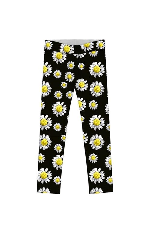 Little Oopsy Daisy Lucy Cute Black Floral Print