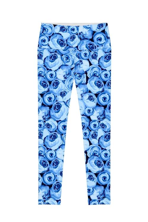Whisper Lucy Floral Printed Performance Leggings -