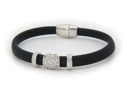 London Black CZ Bracelet