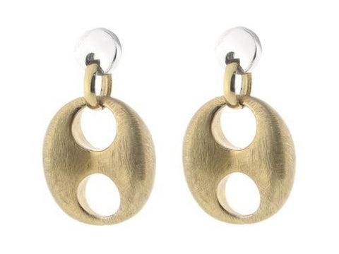 Golden Marine Link Earrings