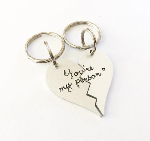 You're my person - Best friends keychains - You're
