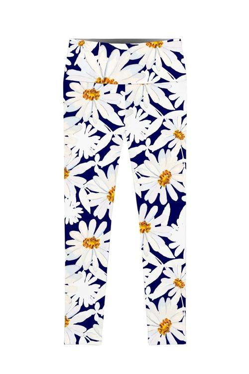 Daisyland Lucy Floral Printed Performance Leggings