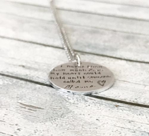 Mother's jewelry - Mommy necklace - Necklace for