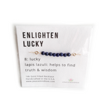 Enlighten - Lucky Collection - Handmade 14k Gold