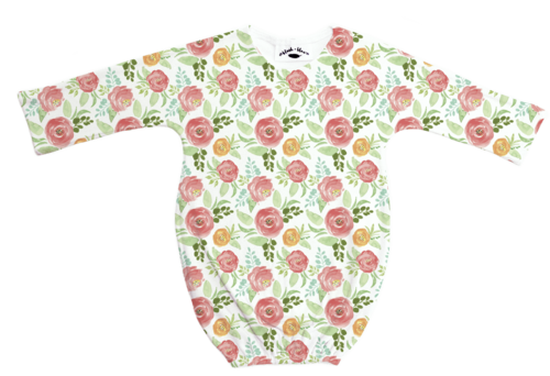 Floral Field - Long Sleeve Sleeper