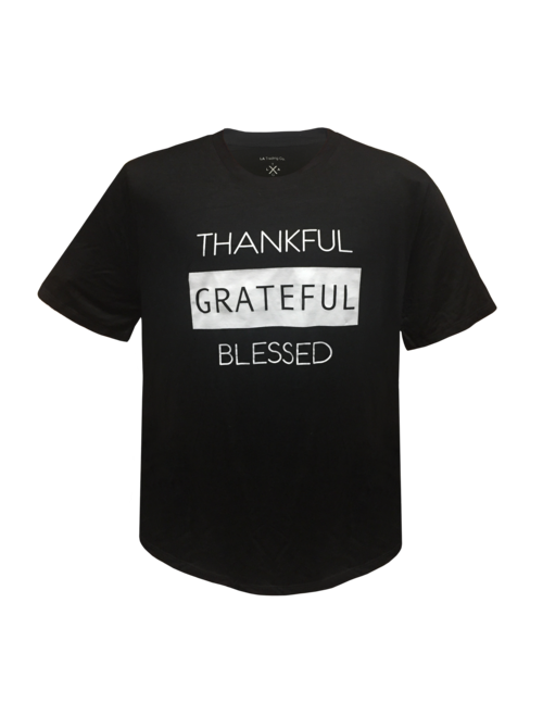 Men's Tee- Thankful Grateful Blessed