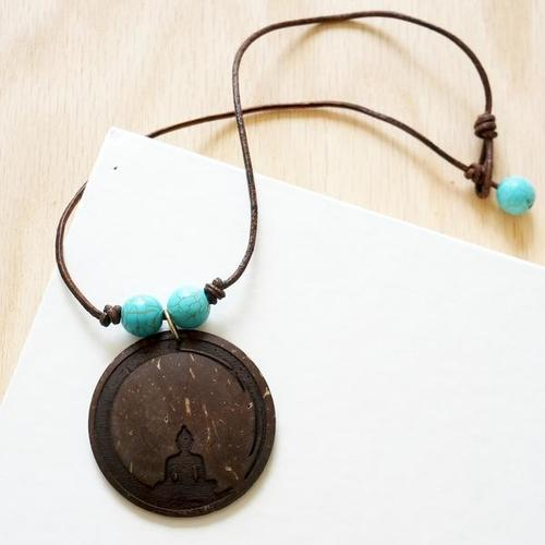Yoga Necklace - Mediation Pendant