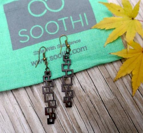 Vertical Chandelier Earrings