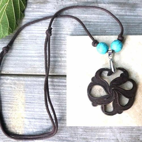 Yoga Necklace - Natural Flower