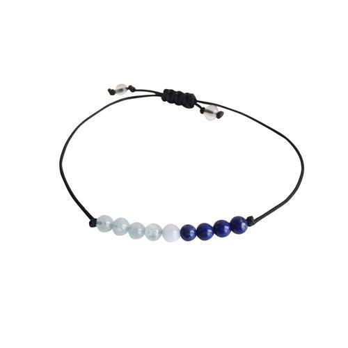 Throat Chakra ~ Choose a String Color ~ Angelite,