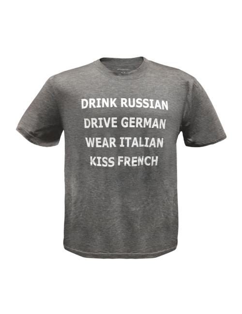 Men's Tee- Drink Russian